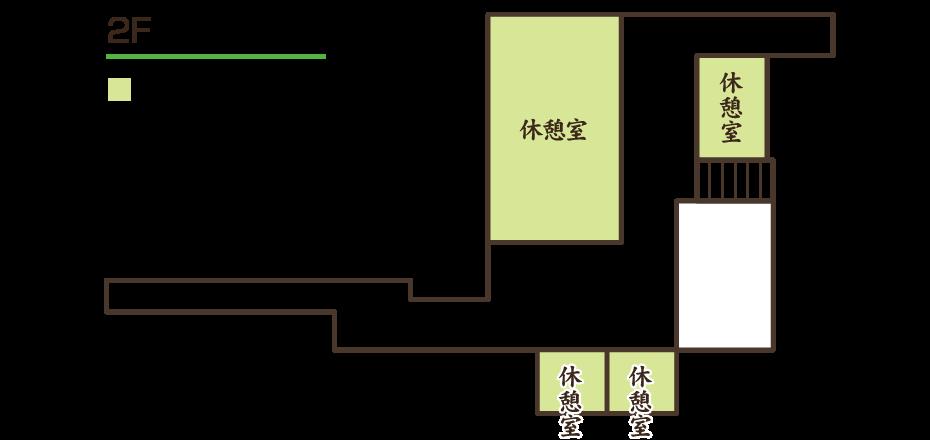 館内案内図:2F